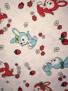 Bunnies Cream Linen image