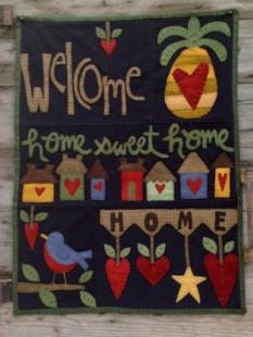 Wooden Spool Design - Home is where the Heart Is image