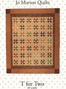 Jo Morton Quilts - T for Two image