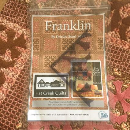 HCQB - Franklin Acrylic Template Set image
